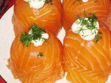 Главное фото рецепта Лосось с сыром закусочный