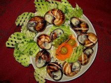 Главное фото рецепта Блюда из улиток