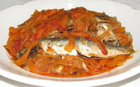 Рыбная консерва в домашних условиях