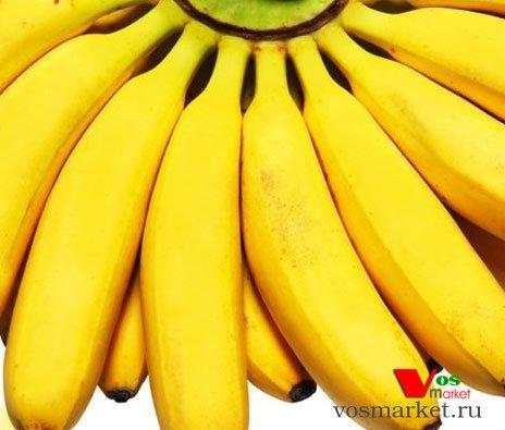 Обычные спелые бананы