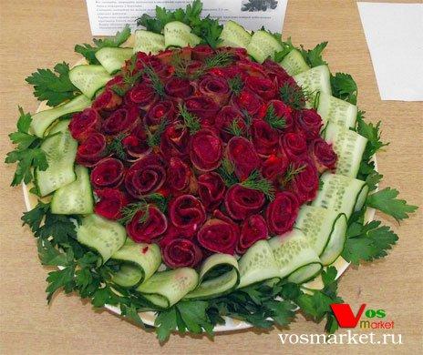 Салат - Букет роз