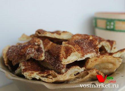 Альмойшавена - сладкий пирог из заварного теста