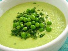 Фото готового блюда: Суп с зеленым горошком