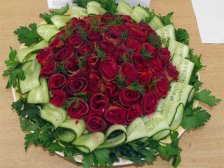 Главное фото рецепта Салат «Розы в букете»