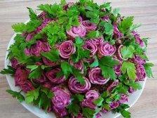 Салат Роза со свеклой