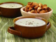 Фото готового блюда: Крем-суп из чеснока