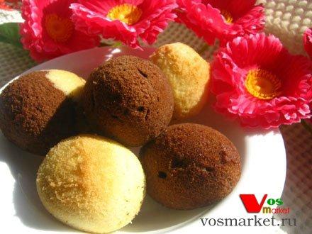 Пасхальные домашние кексы в форме яйца