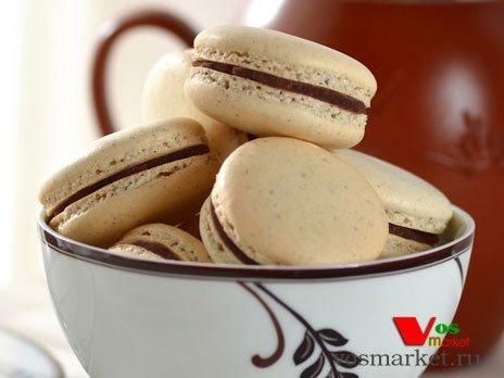 Итальянские печенья с шоколадной начинкой