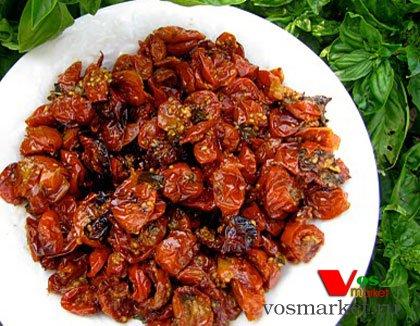 Жаренные помидоры черри