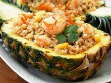 Главное фото рецепта Ананас с морепродуктами