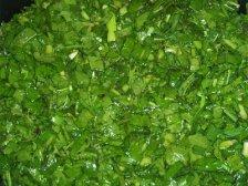 Измельченный зелень