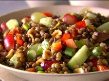 Главное фото рецепта Салат из чечевицы