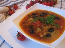 Главное фото рецепта Солянка постная грибная