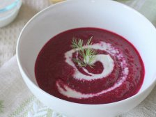 Главное фото рецепта Суп-пюре из свеклы