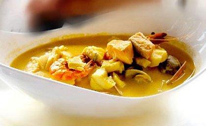 Буйабес - Суп из морепродуктов