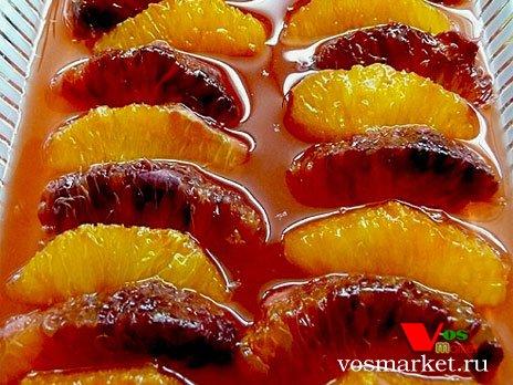Апельсины маринованные