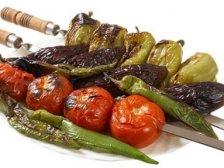 Запеченные на мангале овощи