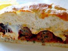 Главное фото рецепта Сэндвич с фрикадельками
