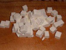 Кубики сыра тофу