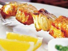 Фото готового блюда: Шашлык из рыбы