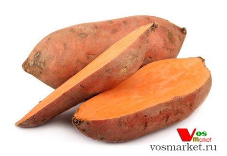 Батат с оранжевой мякотью - сладкий картофель