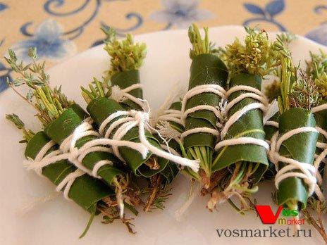Букет гарни из свежих трав