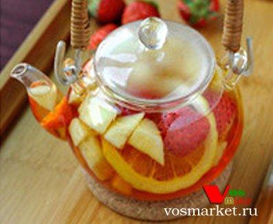 Приготовление фруктового чая