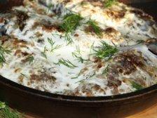 Фото готового блюда: Караси в сметане