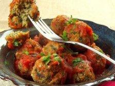 Фото готового блюда: Овощные фрикадельки в томате