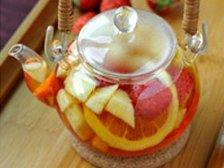 Главное фото рецепта Фруктовый холодный чай