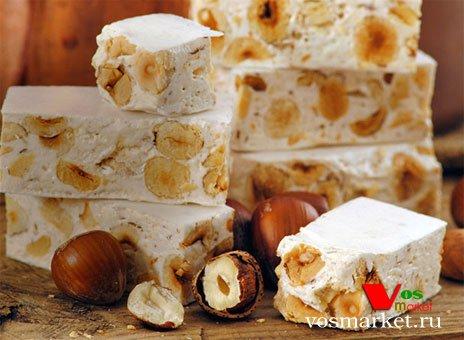 Кондитерская изделия с орехами - нуга