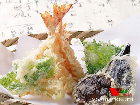 Темпура - японское блюдо в кляре