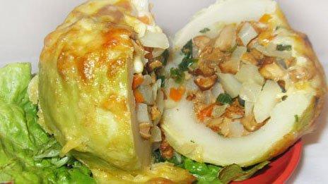 Фото готового блюда: Кольраби фаршированная