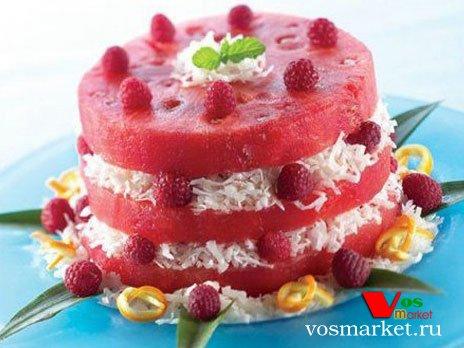 десерты из арбуза рецепты с фото