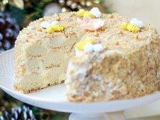 Главное фото рецепта Торт «Медовые шарики»