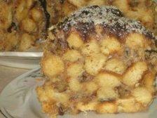 Готовый торт с медом
