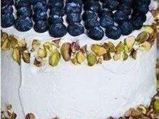 Фото приготовления Торт из арбуза и дыни