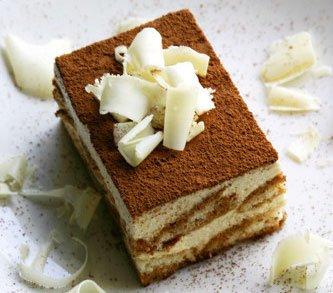Итальянский десерт с сыром маскарпоне