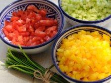 Фото приготовления Огуречный суп с авокадо