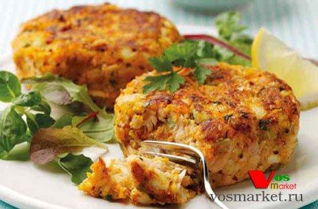 Фото готового блюда: Котлеты с рыбными консервами