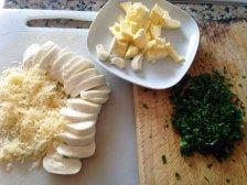 Фото к блюде Багет с сыром на мангале