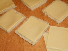 Фото приготовления Горячие бутерброды с сыром