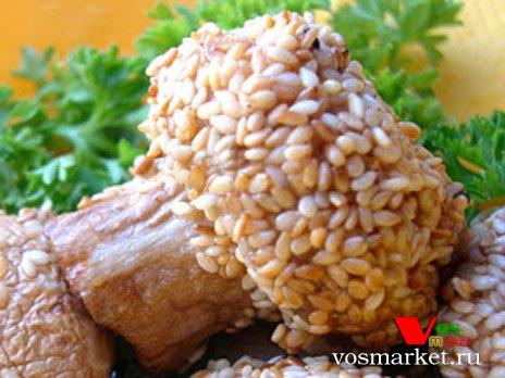 Фото готового блюда: Шампиньоны жаренные