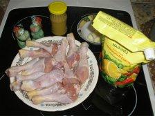 Фото к блюде Куриные голени в духовке