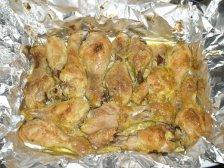 Фото приготовления Куриные голени в духовке