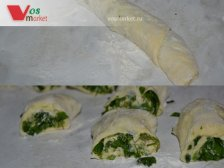 Фото к девятому шагу приуготовлению рецепта Штрудель с картошкой