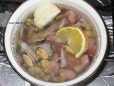 Фото приготовления Паэлья с морепродуктами