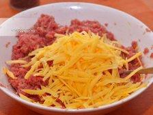 Фото приготовления Котлеты с сыром в духовке