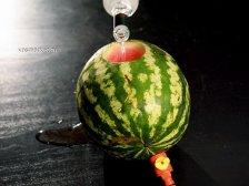 Фото приготовления Алкогольный арбуз