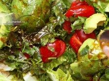 Фото приготовления Салат с авокадо и креветками